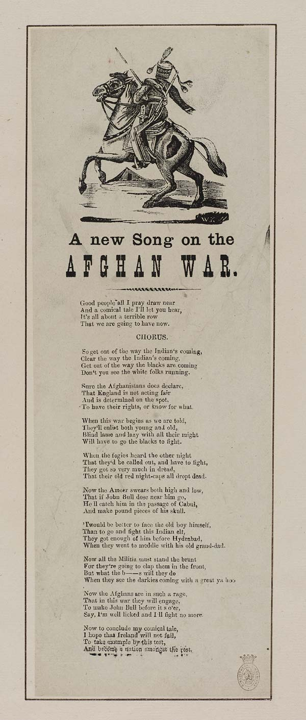 (10) New song on the Afghan war