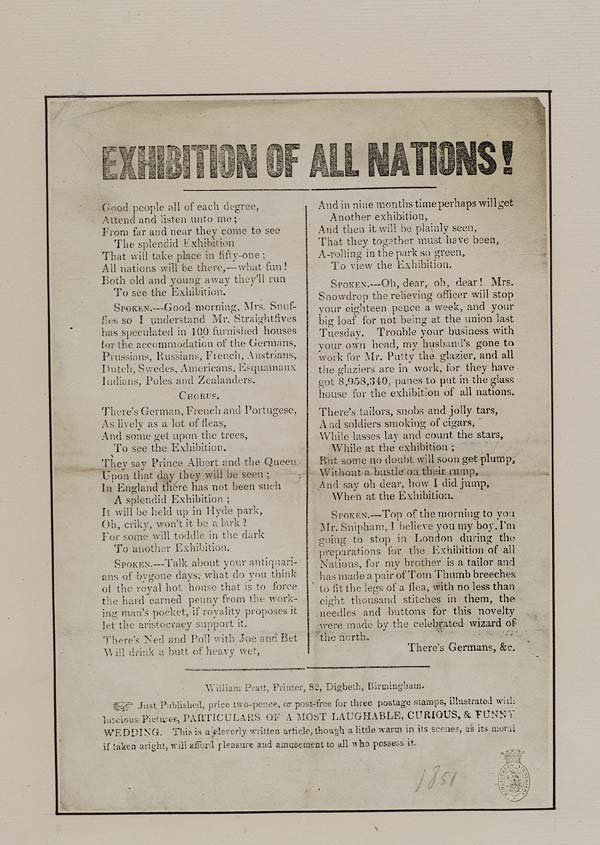 (39) Exhibition of all nations