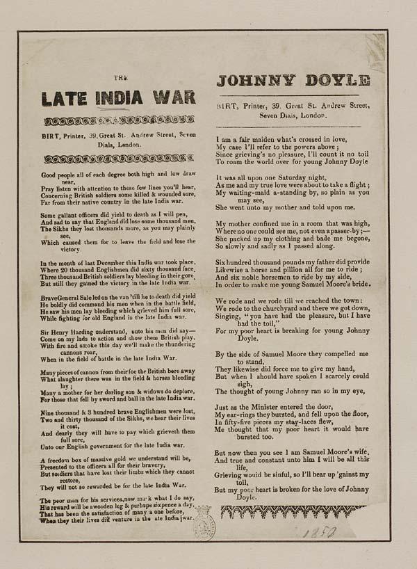 (8) Late India war