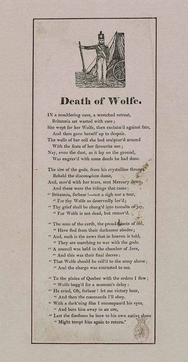 (34) Death of Wolfe