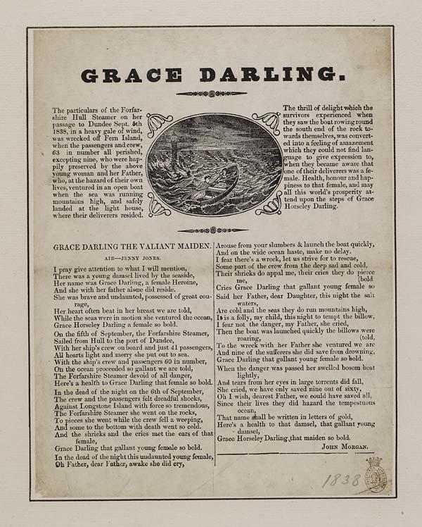 (15) Grace Darling