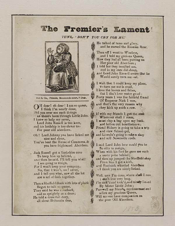 (43) Premier's lament