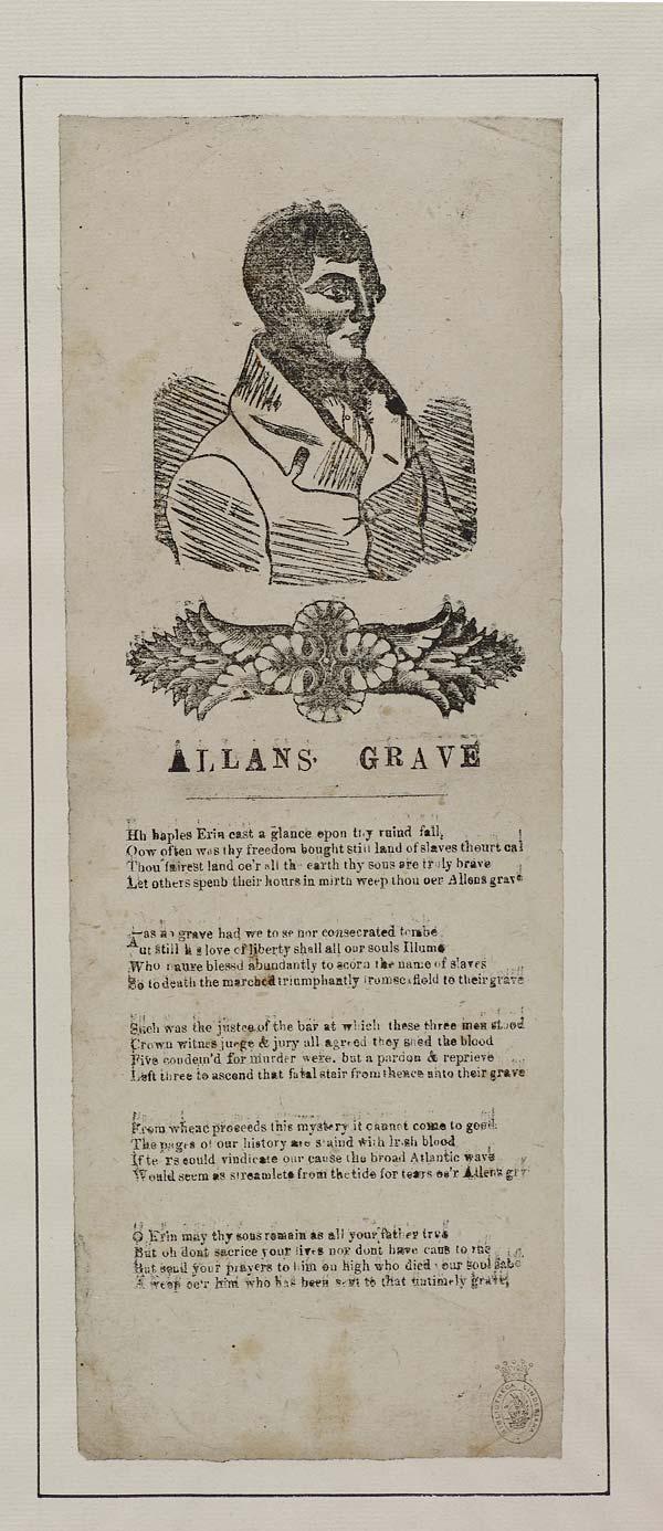 (46) Allans [sic] grave