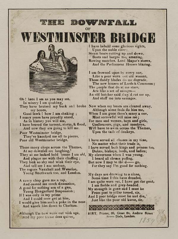 (47) Downfall of Westminster bridge