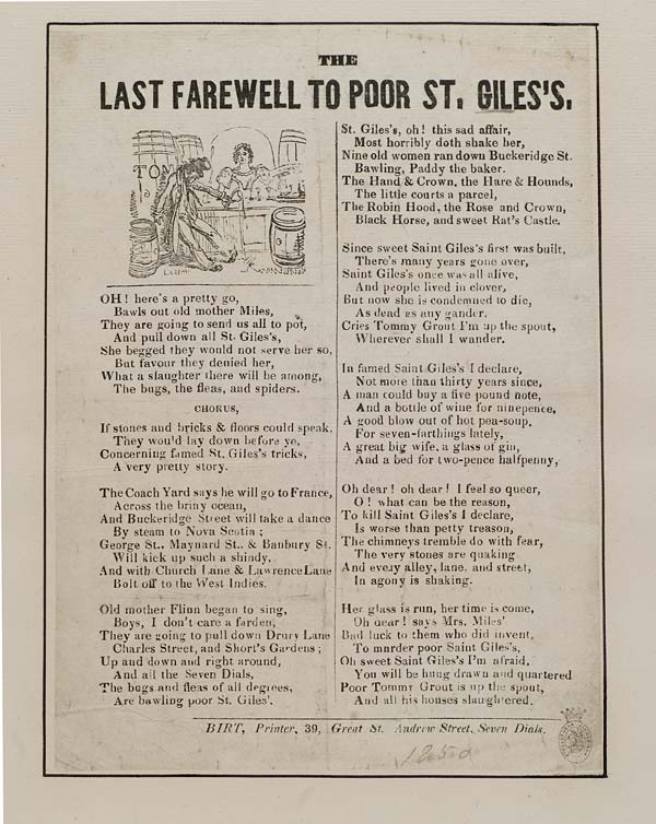 (41) Last farewell to poor St Giles's