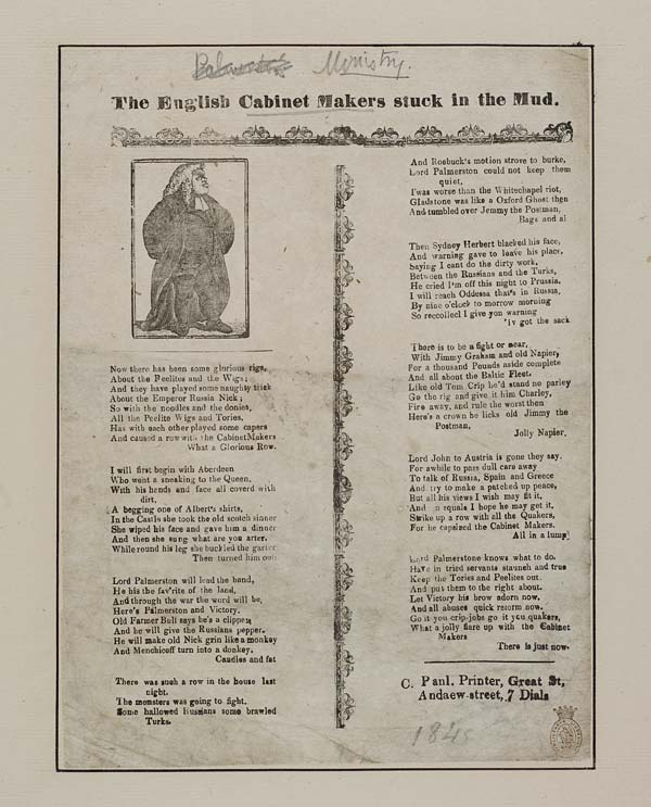 (47) English cabinet makers stuck in the mud