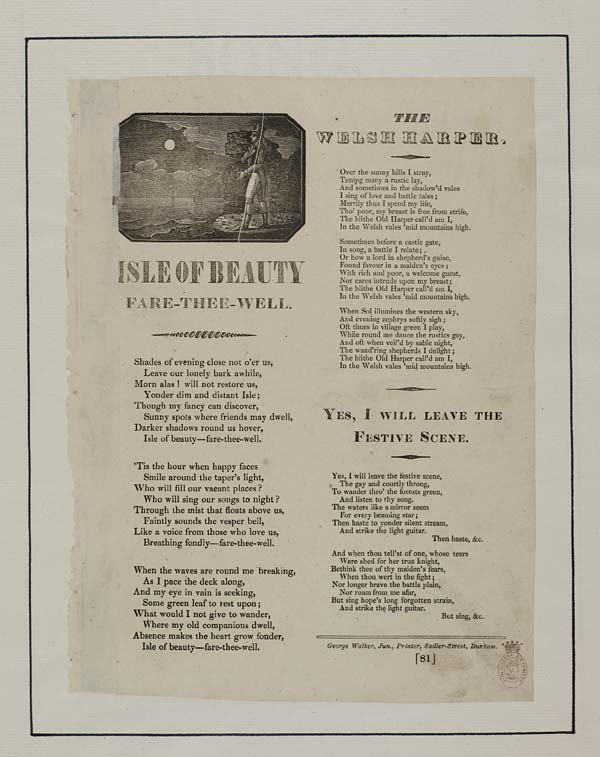 (49) Isle of beauty fare-thee-well