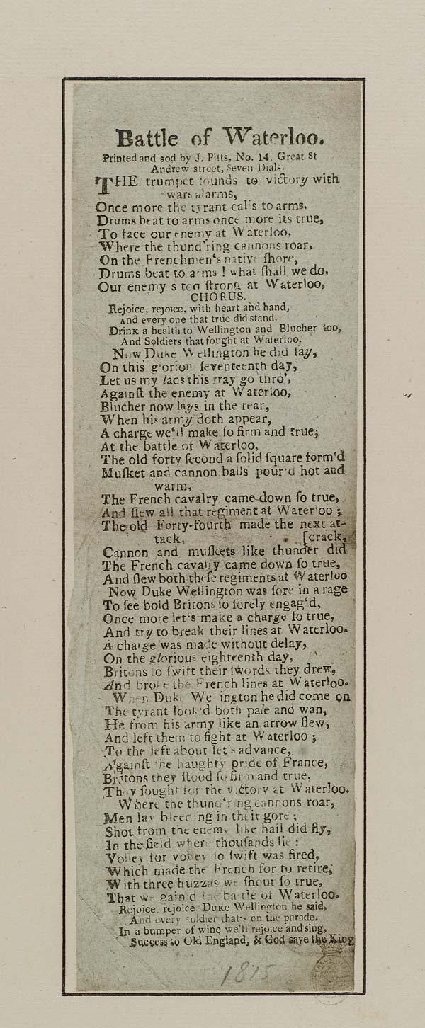 (44) Battle of Waterloo