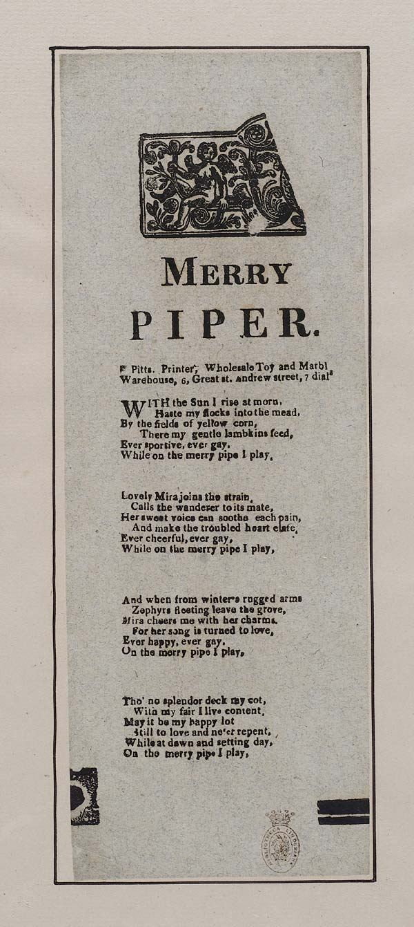 (22) Merry piper