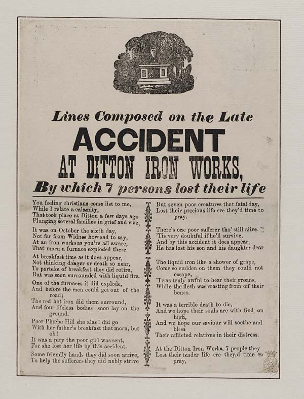 (26) Lines composed on the late accident at Ditton Iron Works