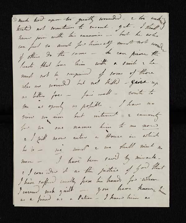 Letter of Lady Caroline Lamb to John Murray, February 1814 - MS. 43560