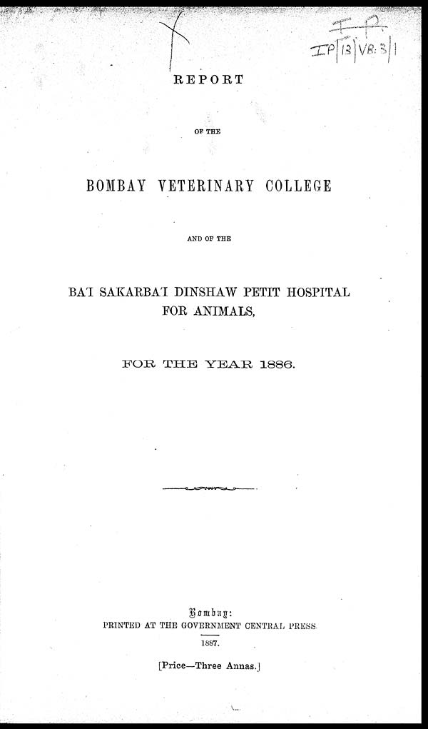 the history of veterinary medicine essay Veterinary report essay throughout the history of veterinary medicine the requirements remain hefty and have a standing impact on today's society.