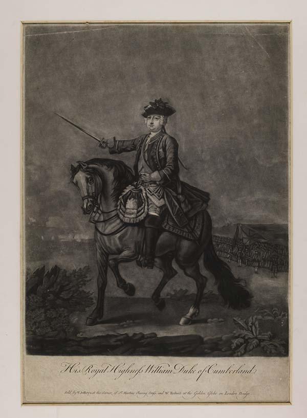 (2) Blaikie.SNPG.1.10 - His Royal Highness William Duke of Cumberland