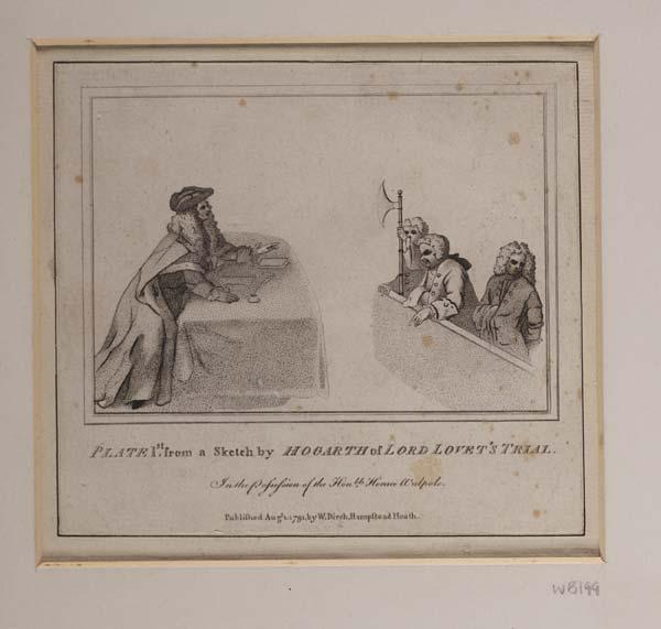 (180) Blaikie.SNPG.17.8 A - Lord Lovat's Trial
