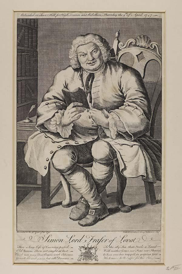 (167) Blaikie.SNPG.17.11 - Simon Lord Fraser of Lovat