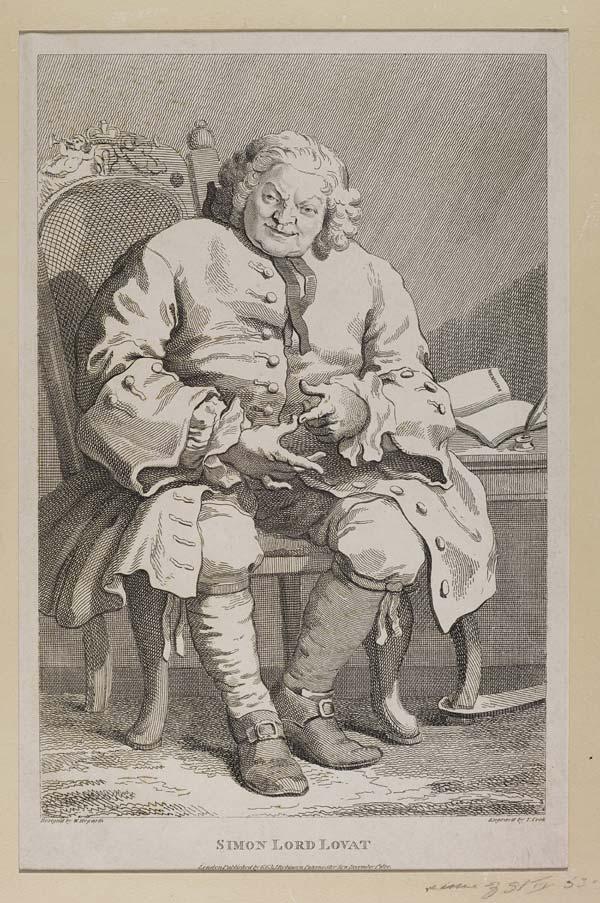 (168) Blaikie.SNPG.17.12 - Simon Lord Lovat