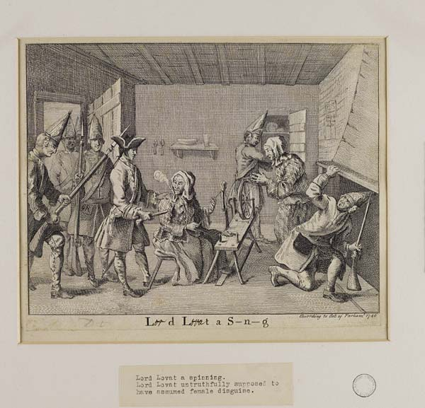 (171) Blaikie.SNPG.17.15 - Lord Lovat a Spinning