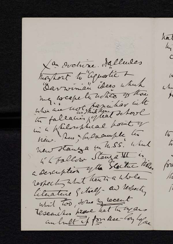 Letter of the Duke of Argyll to John Murray, 22 February 1893 - Ms.40189 ff.26-27