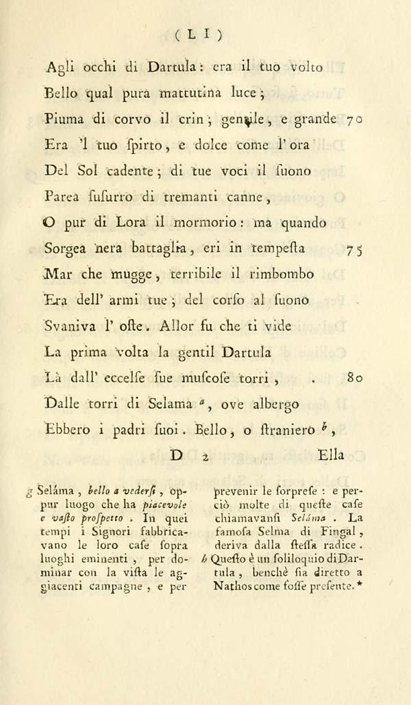 435 Ossian Collection Poesie Di Ossian Figlio Di Fingal