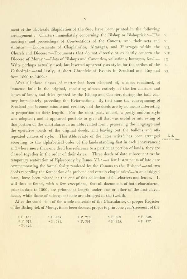(21) Page v -
