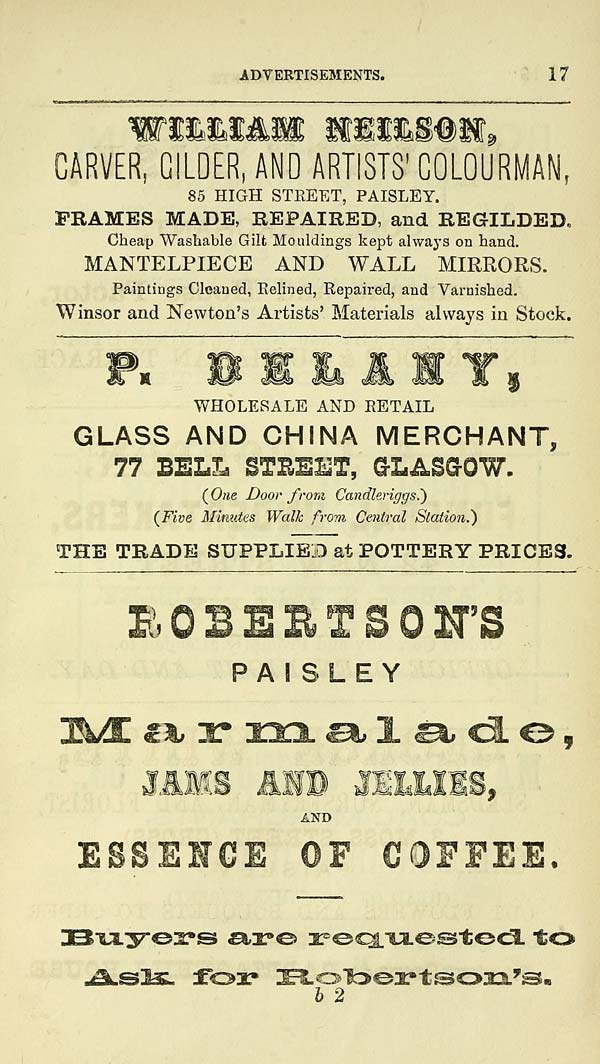 359) - Towns > Paisley > 1862-1884 - Watson's directory for Paisley