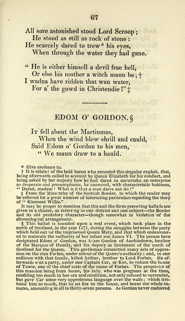(91) Page 67 - Edom o' Gordon