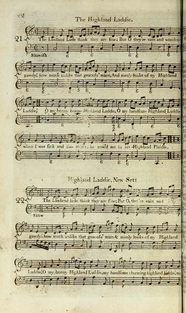 (34) Page 22 - Highland laddie