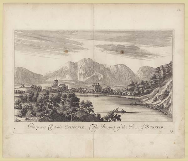 """See: <a href=""""https://digital.nls.uk/slezer/"""">Engraved plates from John Slezer's Theatrum Scotiae</a>"""
