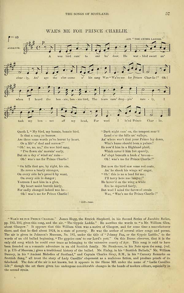 (81) Page 57 - Wae's me for Prince Charlie