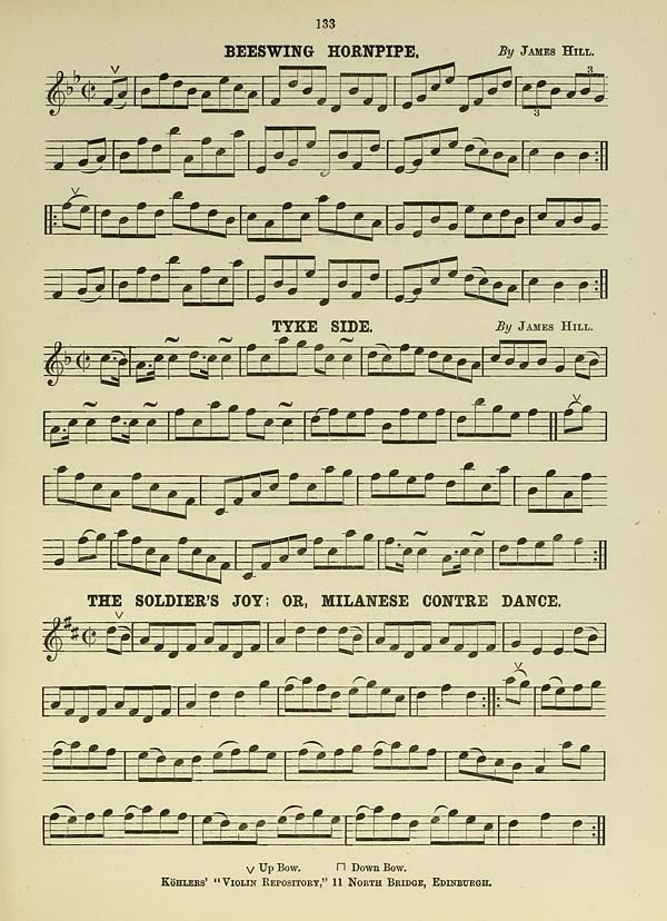 45 Page 133 Beeswing Hornpipe: Historic Sheet Music Collections At Alzheimers-prions.com