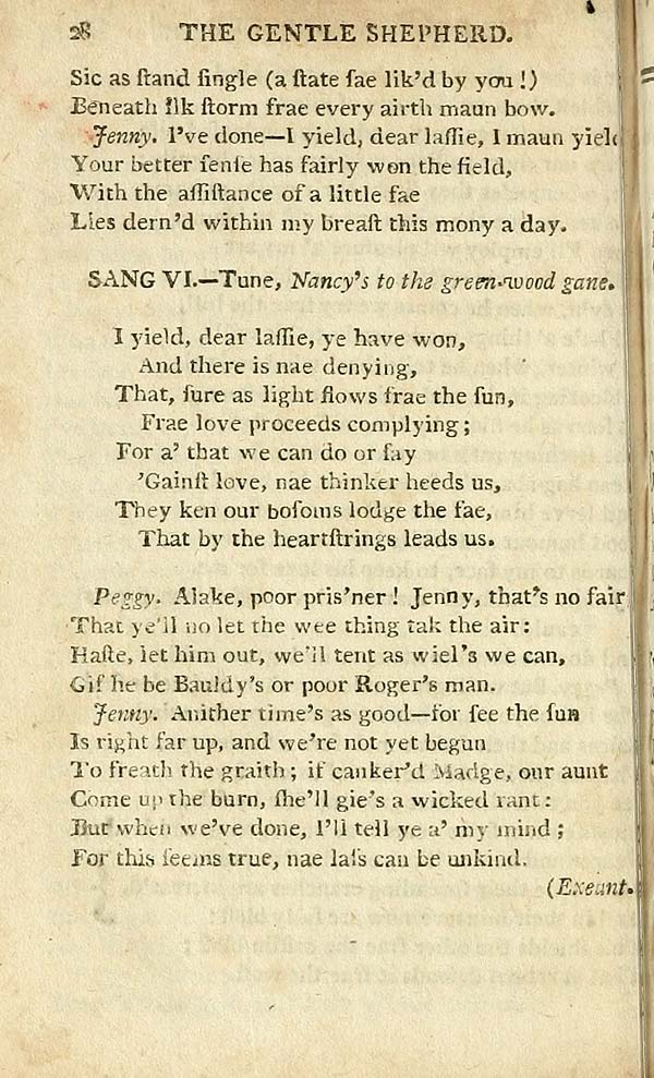 (36) Page 28 - I yield, dear lassie ye have won