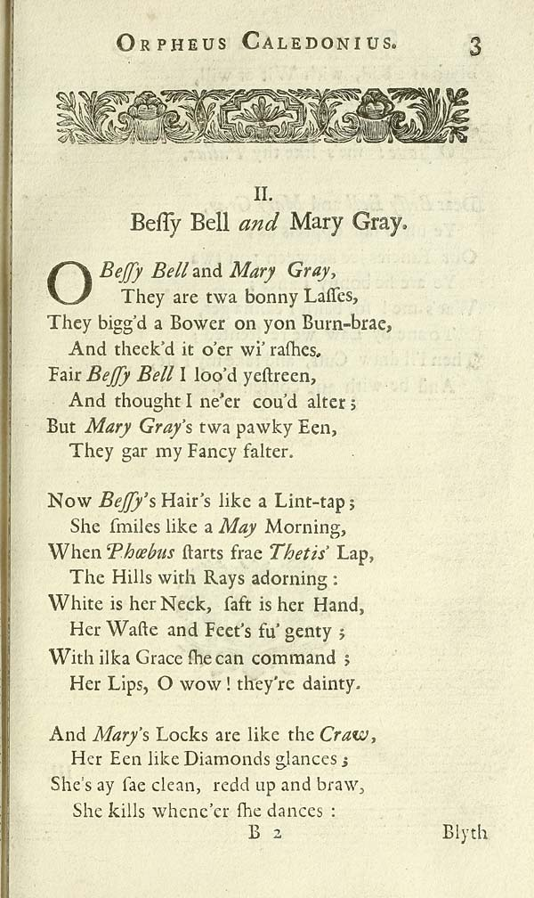 (31) Page 3 - Bessy Bell and Mary Gray