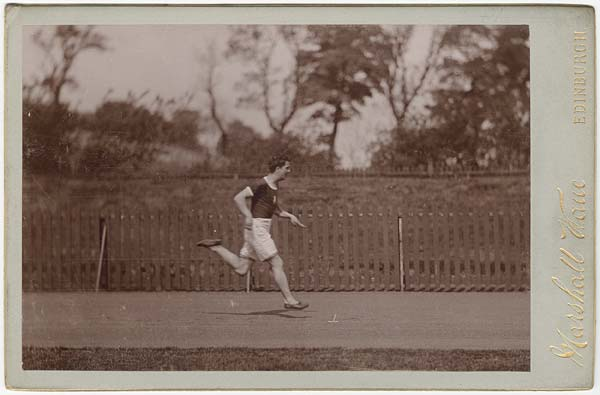 Photograph Of Sprinter Alfred Downer Sporting Photos