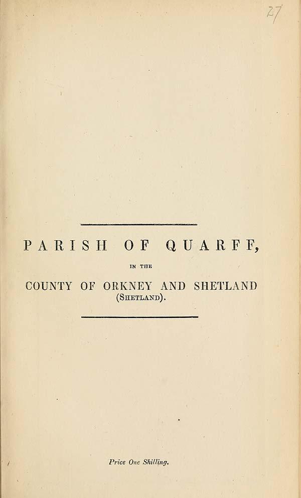 (675) 1880 - Quarry, County of Orkney and Shetland (Shetland)