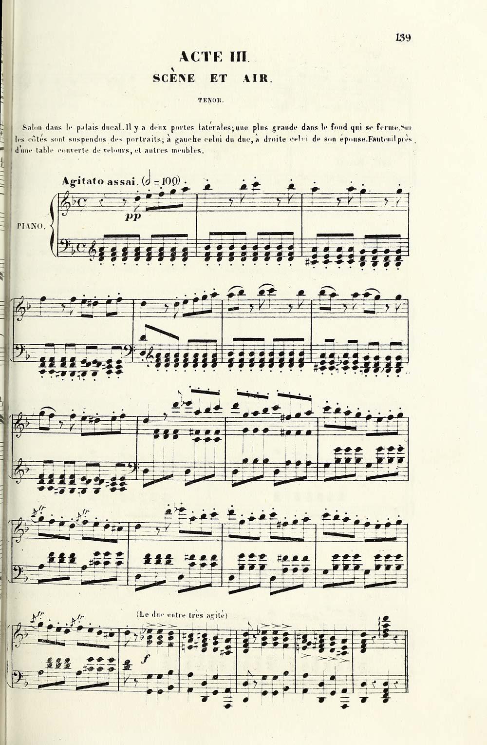 2e115e93e8b6 147) Page 139 - Acte III -- No. 11. Prélude, scène et air -- Ils me ...