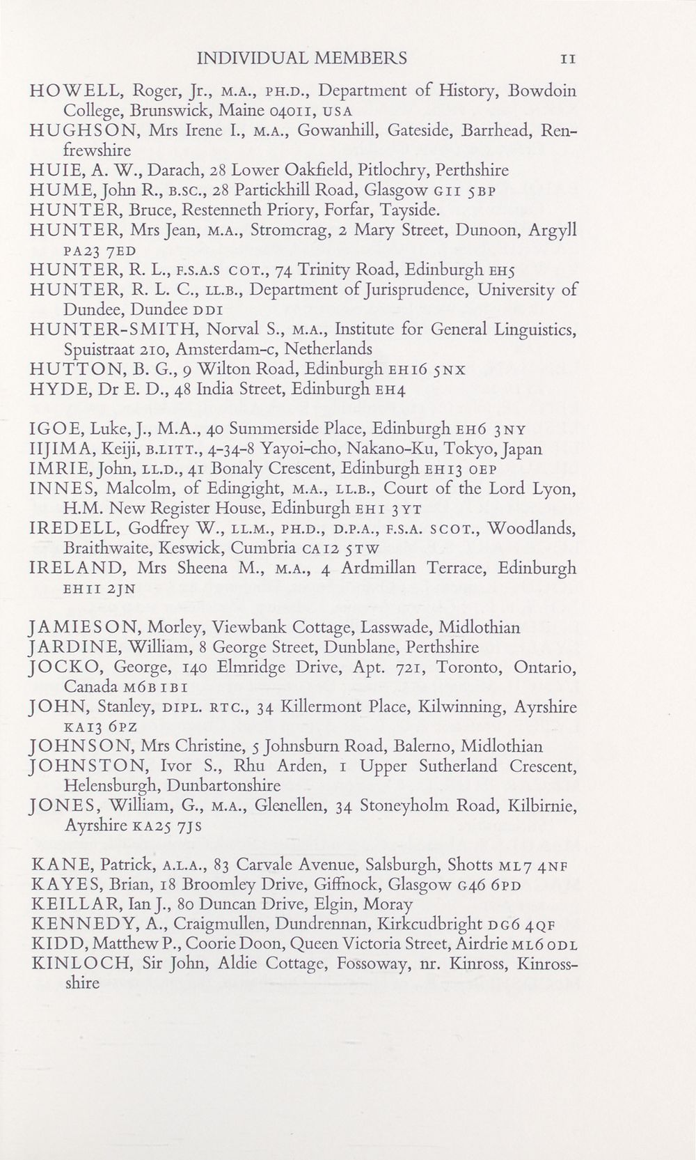 306 Page 11 Series 4 Autobiography Of John Mcadam 1806 1883 National Library Of Scotland