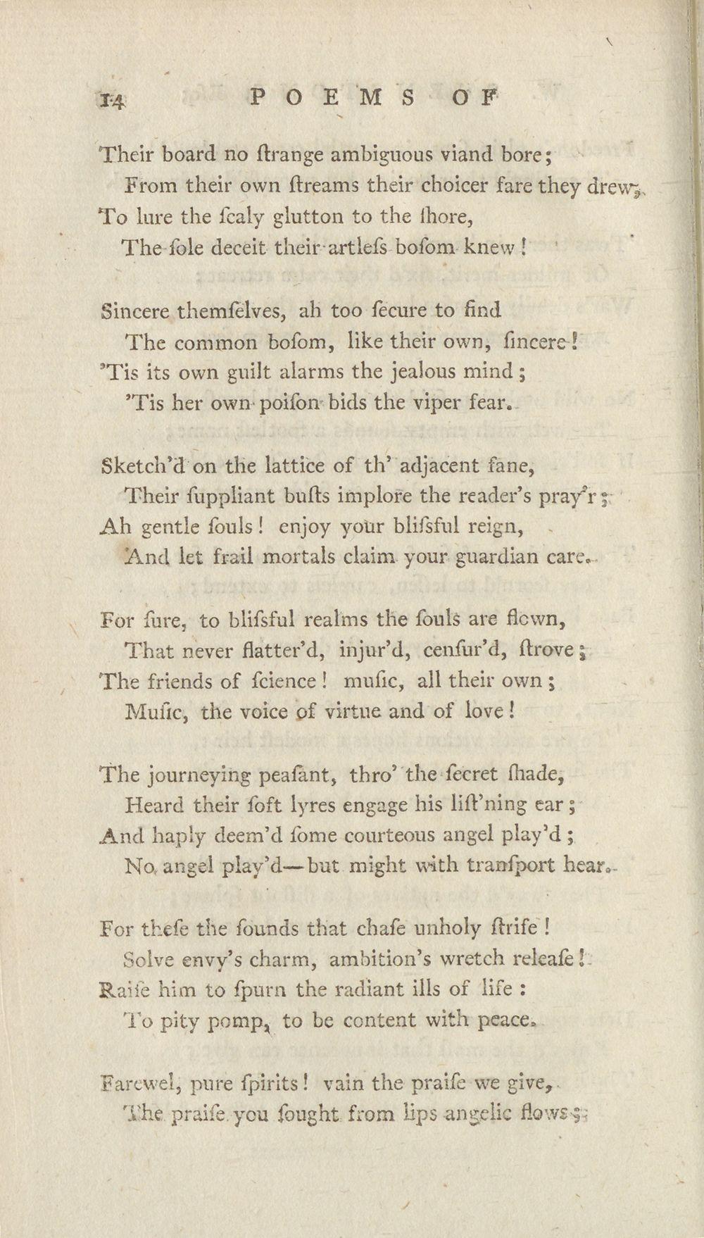 38) - Select works of W  Shenstone, Esq  - James Scott bindings