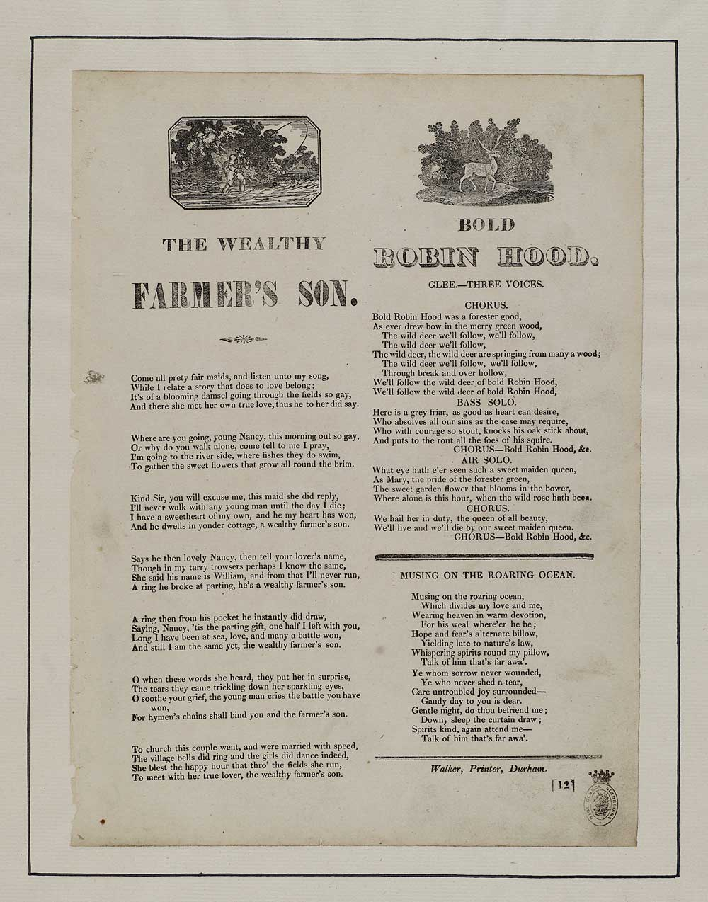 Wealthy farmer's son - Sons & daughters - English ballads