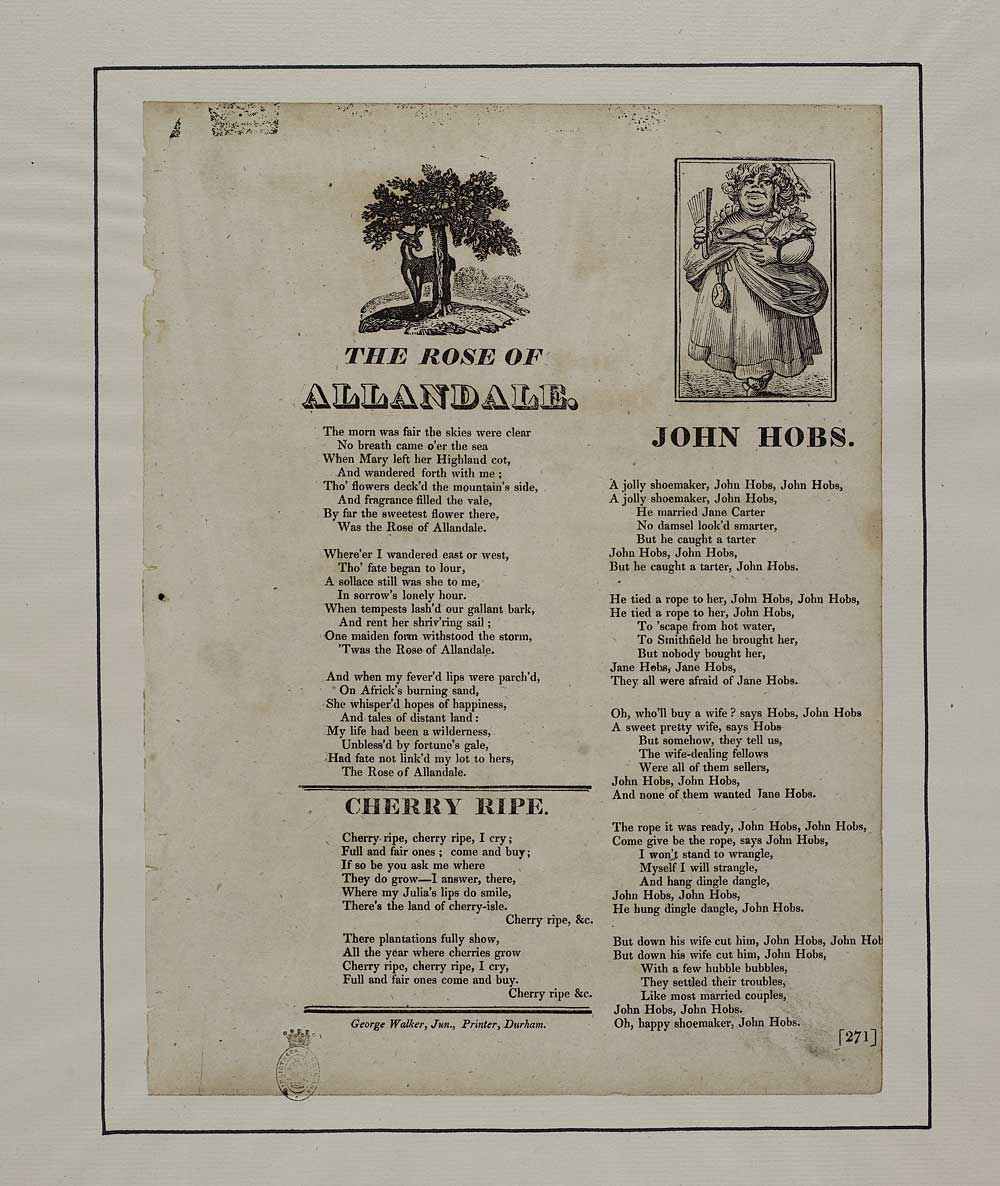 Rose Of Allandale Courtship Marriage English Ballads
