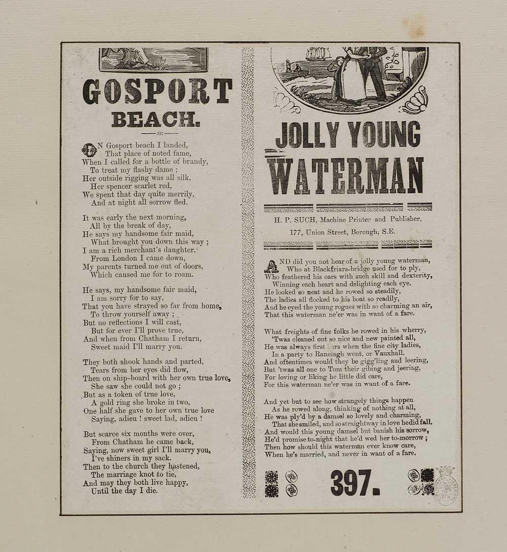 Gosport beach - Soldiers & sailors - English ballads - National