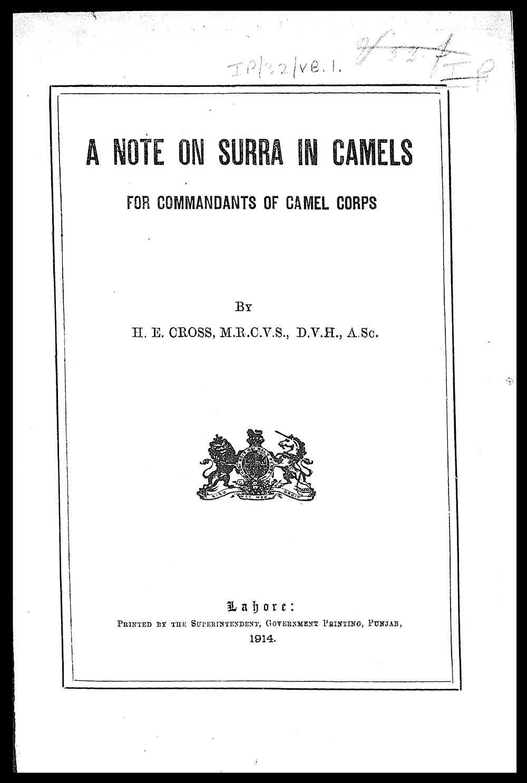 the history of veterinary medicine essay