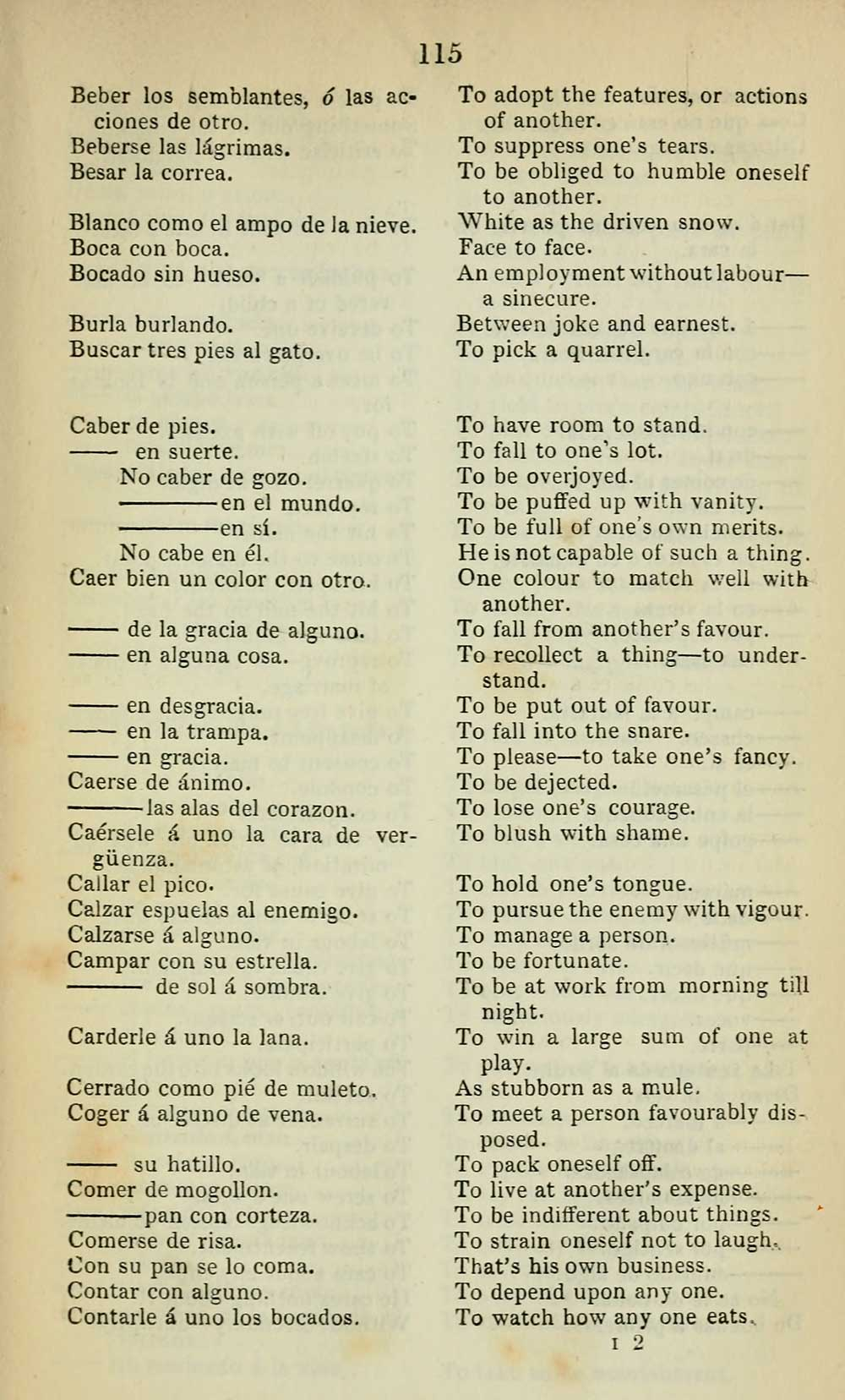 127) - J  F  Campbell Collection > New guide to Spanish and