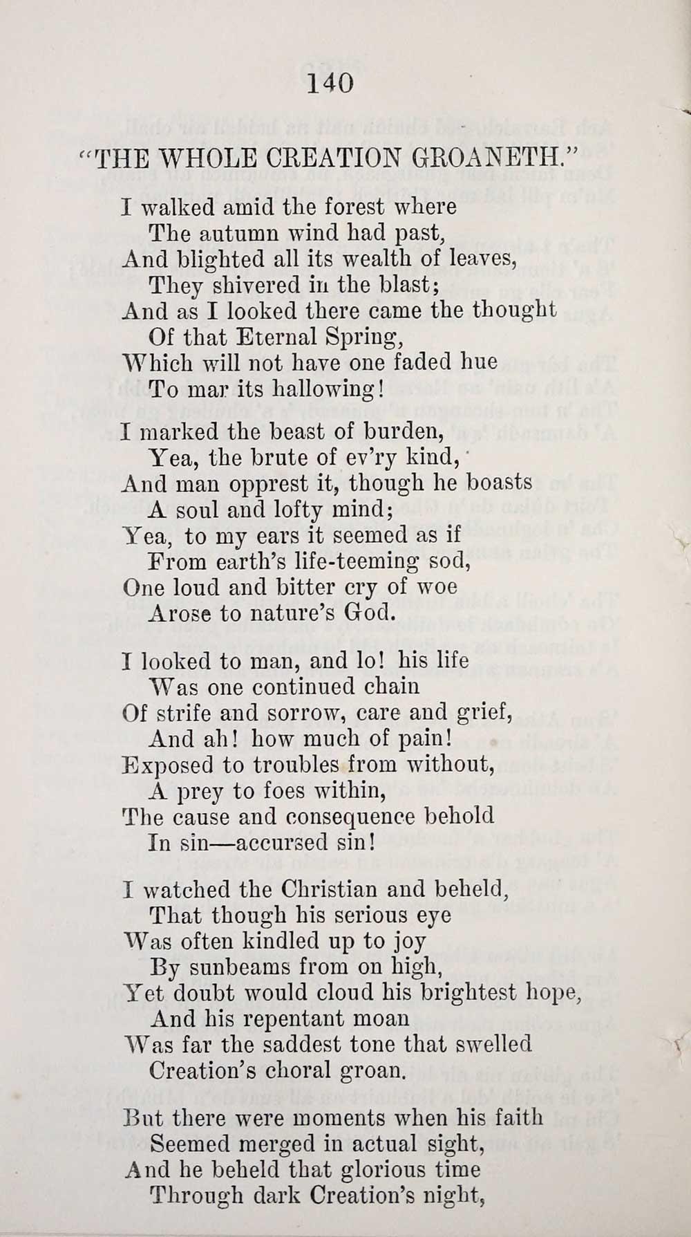 148) - Blair Collection > Select English poems - Early