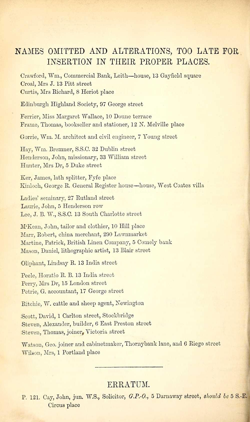 104) - Towns > Edinburgh > 1846-1975 - Post Office Edinburgh and ...