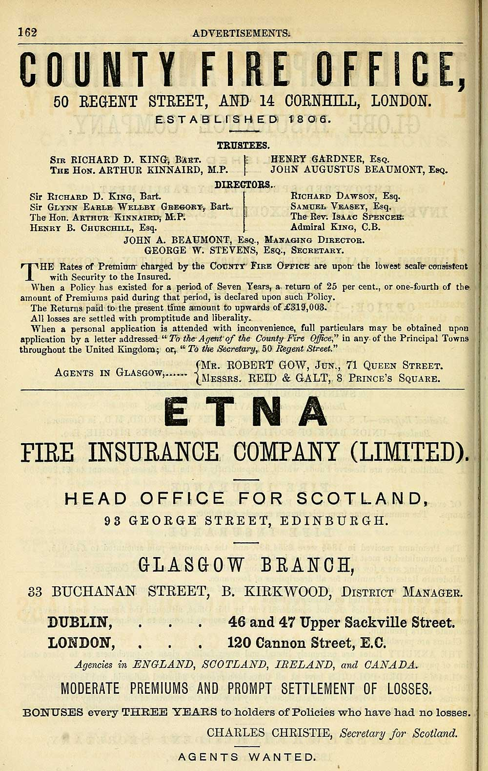 894) - Towns > Glasgow > 1828-1912 - Post-Office annual
