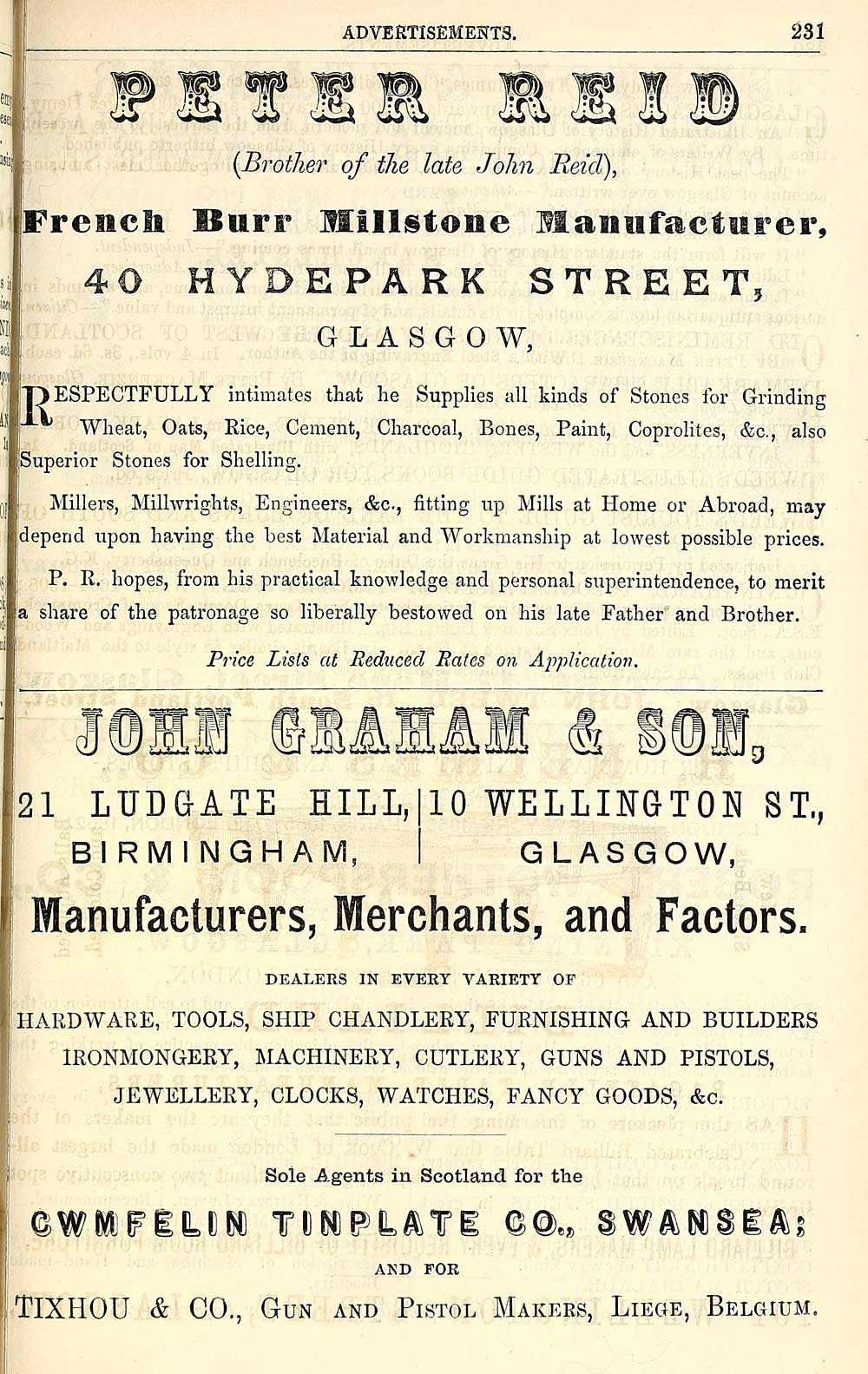 1235) - Towns > Glasgow > 1828-1912 - Post-Office annual
