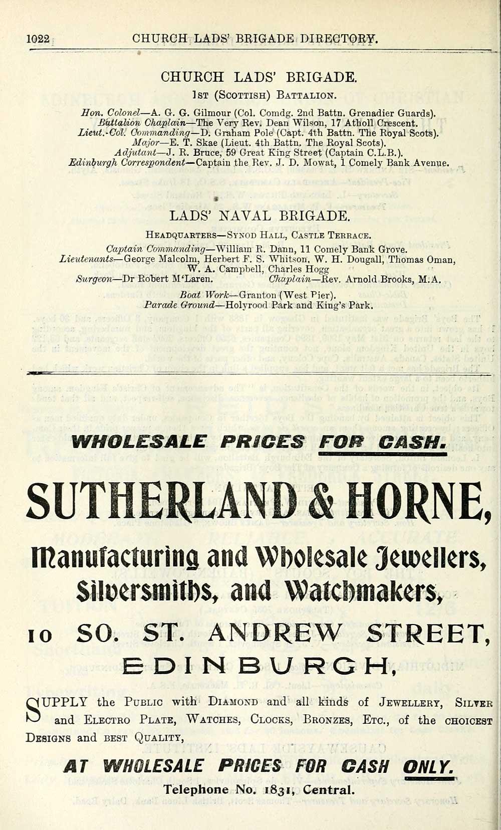 1076) - Towns > Edinburgh > 1846-1975 - Post Office Edinburgh and