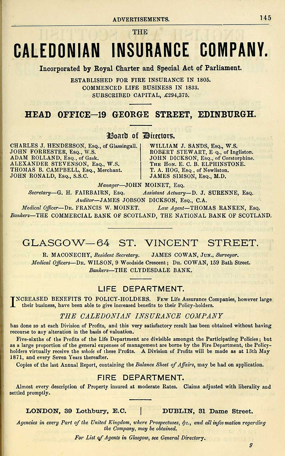 925) - Towns > Glasgow > 1828-1912 - Post-Office annual Glasgow