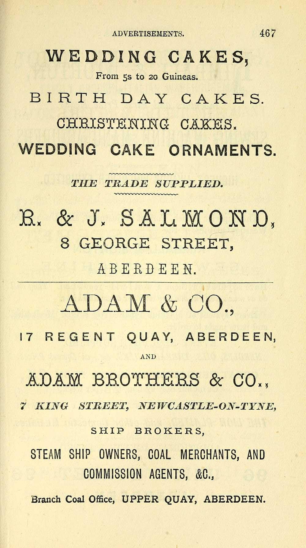 473) - Towns > Aberdeen > 1858-1912 - Post Office Aberdeen directory ...