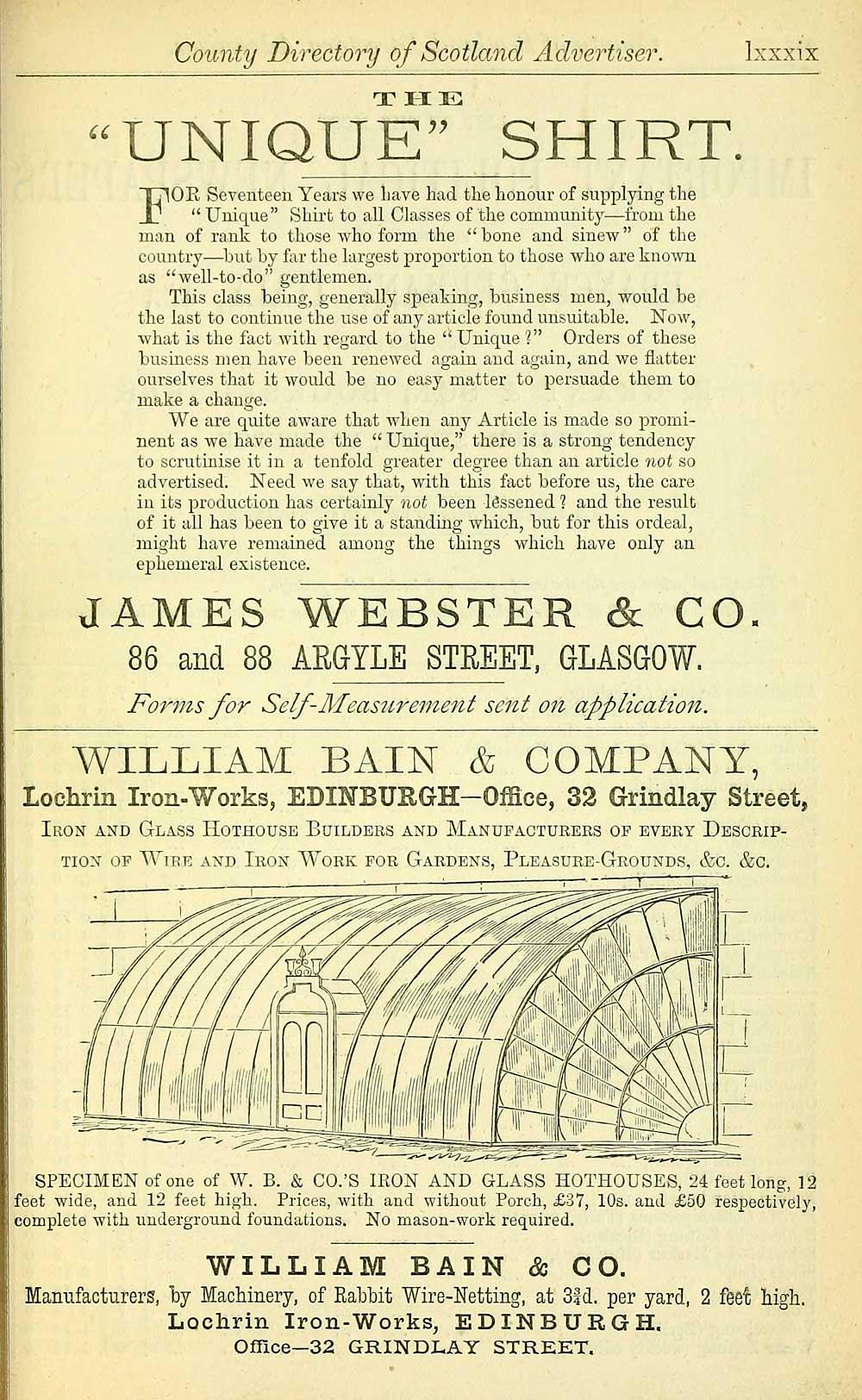 671) - Scotland > 1862, 1868, 1872, 1882-1885, 1893-1896, 1901-1904